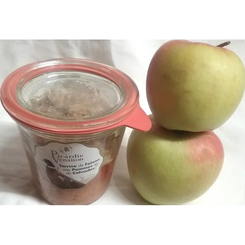 Terrine de Faisan aux Pommes et Calvados
