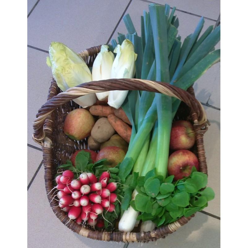 Panier de fruits et légumes pour 4 personnes