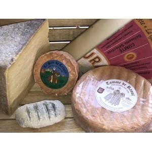 Plateau - sélection de 5 fromages