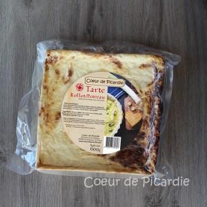 Tarte Rollot Poireaux