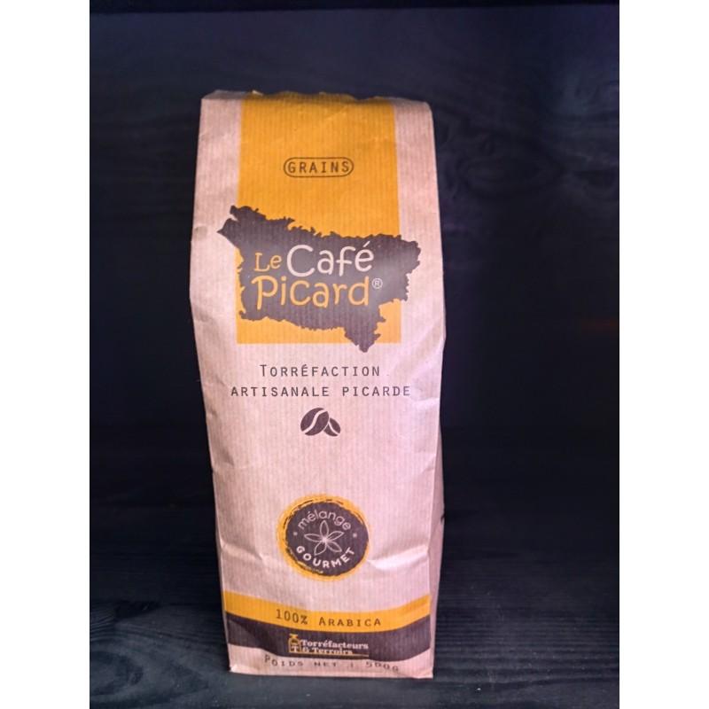 Café en Grains  Picard Mélange Gourmet 500g